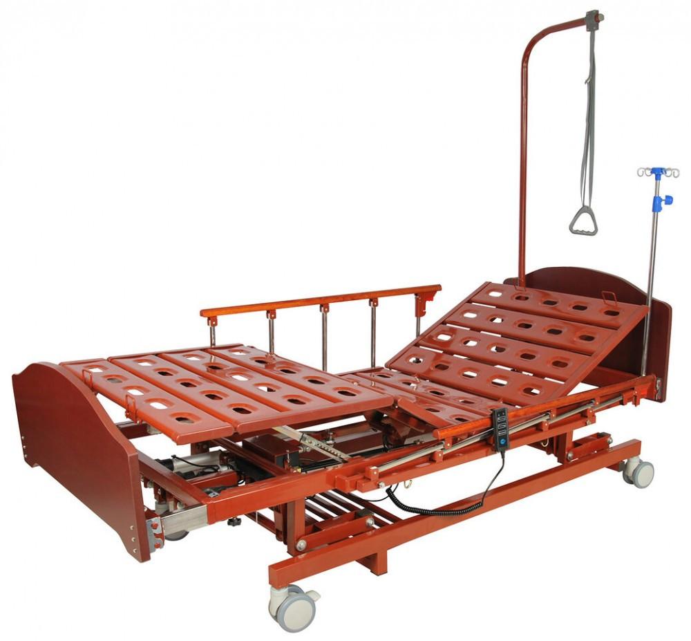 Кровать электрическая DB-6 (3 функции, 4 секции) с ростоматом