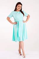Классическое женское платье большой размер