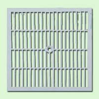 Крышка к дождеприемнику PolyMax Basic 38.38 пластиковая серая