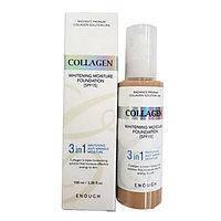 Тональный крем с коллагеном для сияния кожи Enough Collagen 3 в 1 (т21)(497079), фото 2