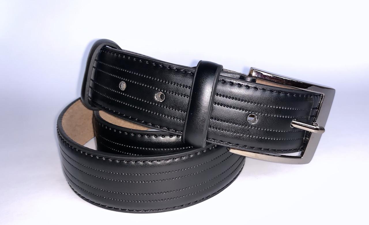 Мужской ремень М-119-4 (черный 2)