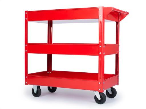 Тележка для инструмента Carmax (грузоподъемность 100 кг). Стальная конструкция. Разборная.
