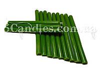 Восковые зеленые свечи 12см