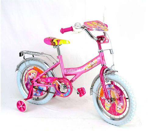 """Детский велосипед  """"Принцессы""""  2-х колесный 141207, фото 2"""