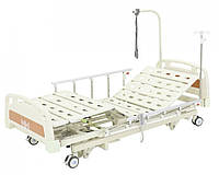 Кровать электрическая DB-6 (3 функции, 4 секции) с выдвижным ложем, фото 1