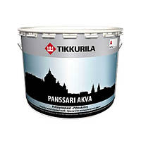 Краска Panssari Akva для металлических крыш Панссари Аква, 2.7л