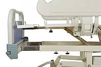 Кровать электрическая DB-3 (5 функций) с выдвижным ложементом и ростоматом CPR+аккумулятор с ростоматом, фото 1