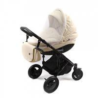 Сітка від комарів та мух універсальна 90х50 москітна на дитячу коляску дитячий візочок 3966 Білий