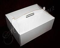 Коробка из гофрокартона для тортов