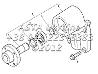 Привод вентилятора, двигатель 1104C-44Т, RG38101 Г1-6-1