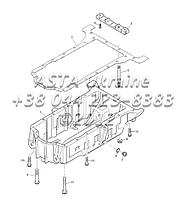 Картера двигателя 1104C-44Т, RG38101 Г1-7-1Шкивы, двигатель 1104C-44Т, RG38101 Г1-6-2