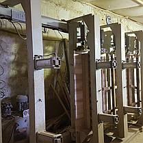 Пресс-вайма гидравлическая MWM N 6000| Вайма | Пресс для производства мебельного щита, фото 3