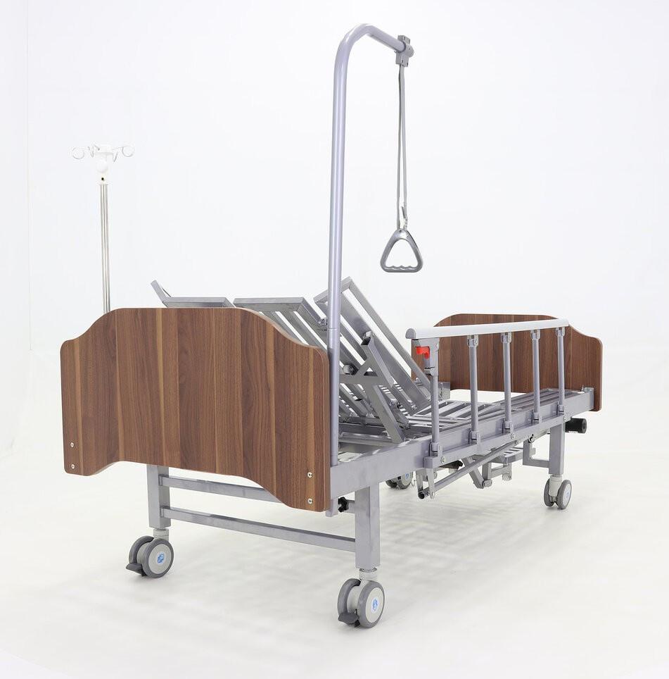 Кровать электрическая YG-3 с боковым переворачиванием, туалетным устройством и функцией «кардиокресло»