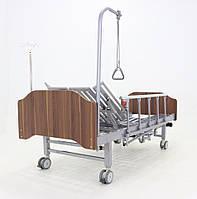 Кровать электрическая YG-3 с боковым переворачиванием, туалетным устройством и функцией «кардиокресло», фото 1