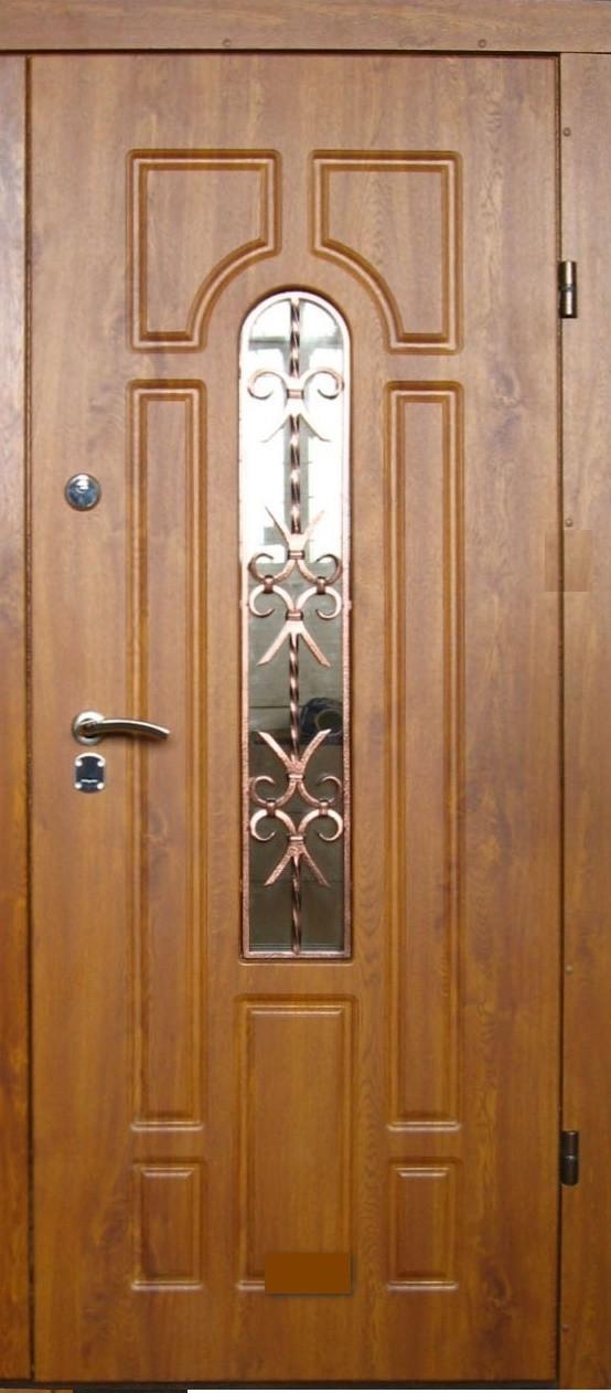 Двері вхідні броньовані з ковкою безкоштовна доставка 86х205 .