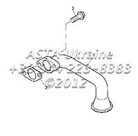 Фильтр масляный, сетчатый, двигатель 1104C-44T, RG38101 G1-7-3