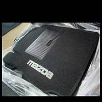 Водительский коврик ворсовый  MAZDA  2 (2002-2007)
