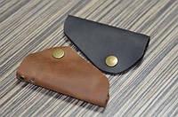 Ключница натуральная кожа аксессуар Boorbon 409 ручная работа для ключей подарок брелок на ключи