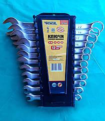 Набор ключей (6-22мм) рожково-накидные(12 ключей)Master Tool