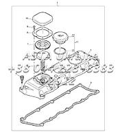 Крышка ГБЦ,двигатель 1104C-44Т, RG38101 G1-8-1
