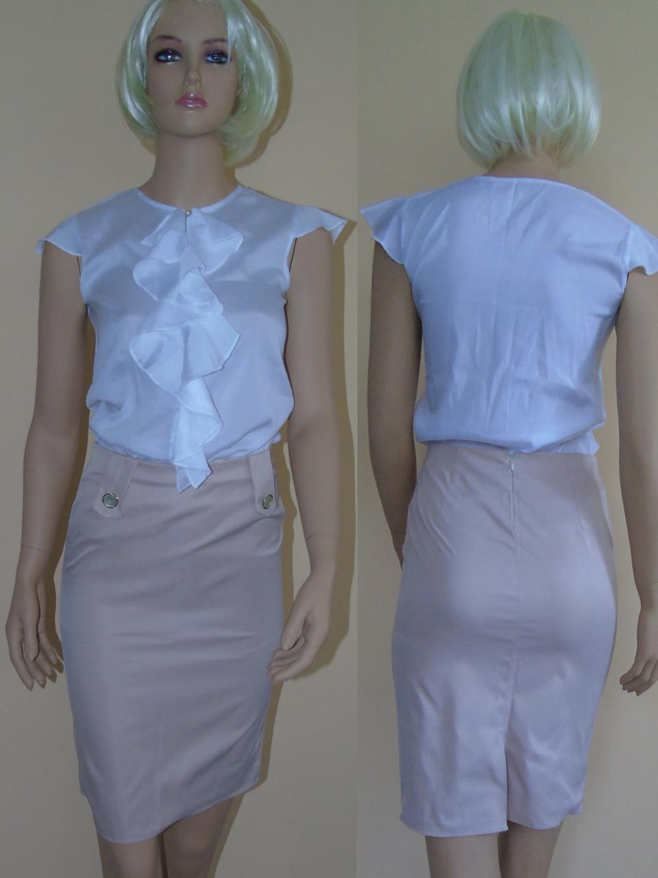 Комплект блузка и юбка купить в