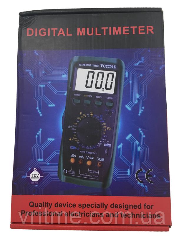 Цифровий тестер - мультиметр VC 2101