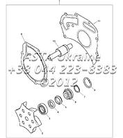 Водяной насос,двигатель 1104C-44Т, RG38101 G1-12-2, фото 1
