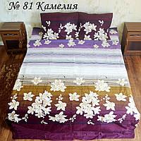 Двуспальное постельное белье - камелия