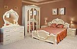 Тумба прикроватная Империя  (Світ мебелів) роза лак, фото 2