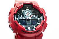 Наручные часы Casio G-Shock (красные) оптом