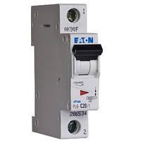 Автоматический выключатель Eaton-Moeller PL6 1P 20A