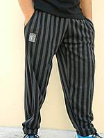 Штаны спортивные MORDEX размер М (черно серая широкая полоска)