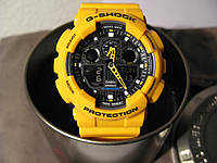 Наручные часы Casio G-Shock (желтые) оптом