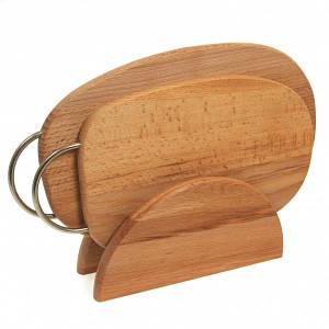 Обробні дошки, дерев'яні кухонні приналежності