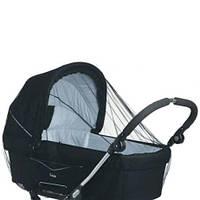 Антимоскитная сетка большая 120х60 универсальная на детскую коляску люльку прогулку всех типов 3966 Чёрный