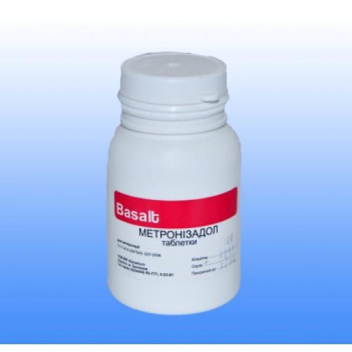 Метронидазол 250 мг №100 табл. антибиотик широкого спектра ...