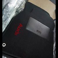 Ворсовые коврики в салон AUDI A6 (2004-2011)