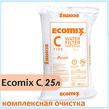 Комплексная ионообменная смола ECOMIX С, 25 литров
