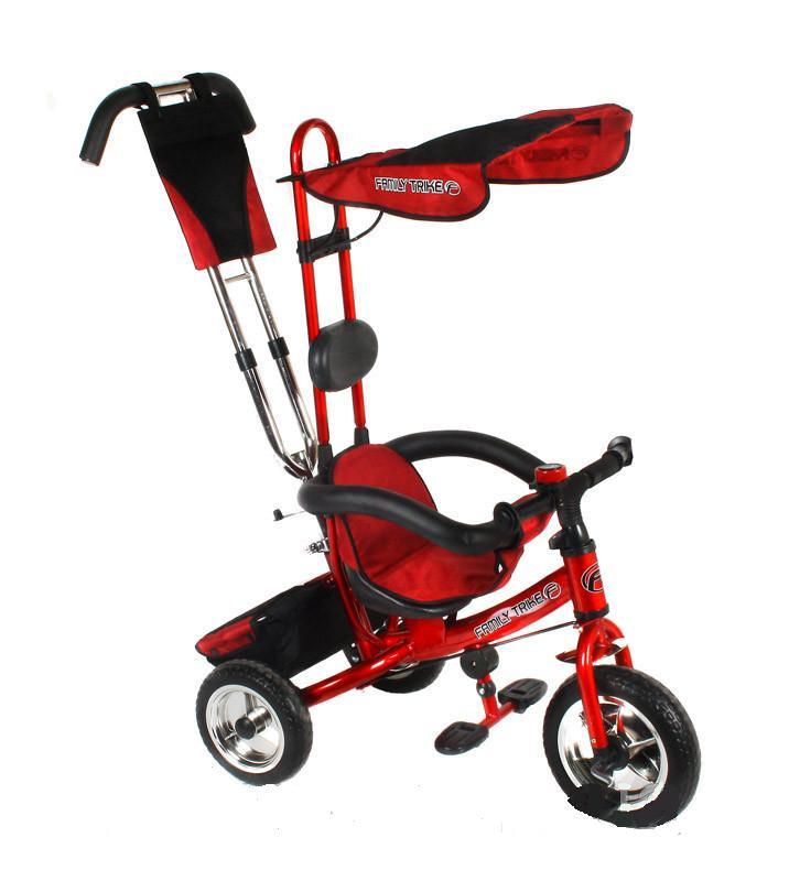 Детский трехколесный велосипед красный 1403