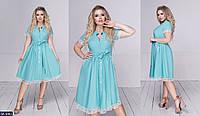 Стильное платье    (размеры 48-54)  0181-93, фото 1