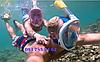 Маска FREE BREATH підводний, для плавання, пірнання, снорклінга. Дитячі від 4-х років., фото 8