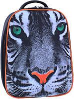 Рюкзак школьный ортопедический Bagland Turtle 17 л. для младшей школы тигр