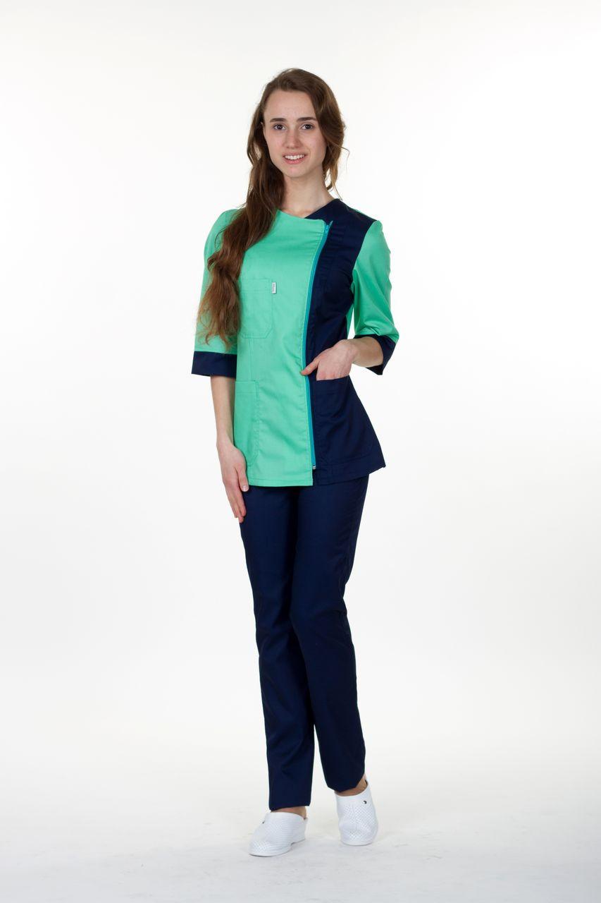 """Жіночий  медичний костюм  """"Ольга """"(х-б) +30гр. якщо розмір більший 60"""