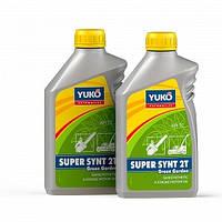 Моторное масло для садовой техники YUKO SUPER SYNT 2T Green Garden 1 Л.