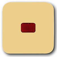 Выключатель одноклавишный с подсветкой ABB Busch-Duro накладка
