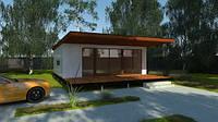 Строительство дач Днепропетровск, энергоэффективный модульный дом