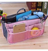 Многофункциональный Органайзер в сумку Bag in Bag (Розовый)