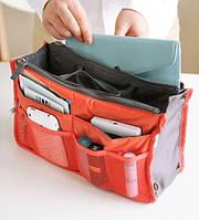 Многофункциональный Органайзер в сумку Bag in Bag (Корраловый)
