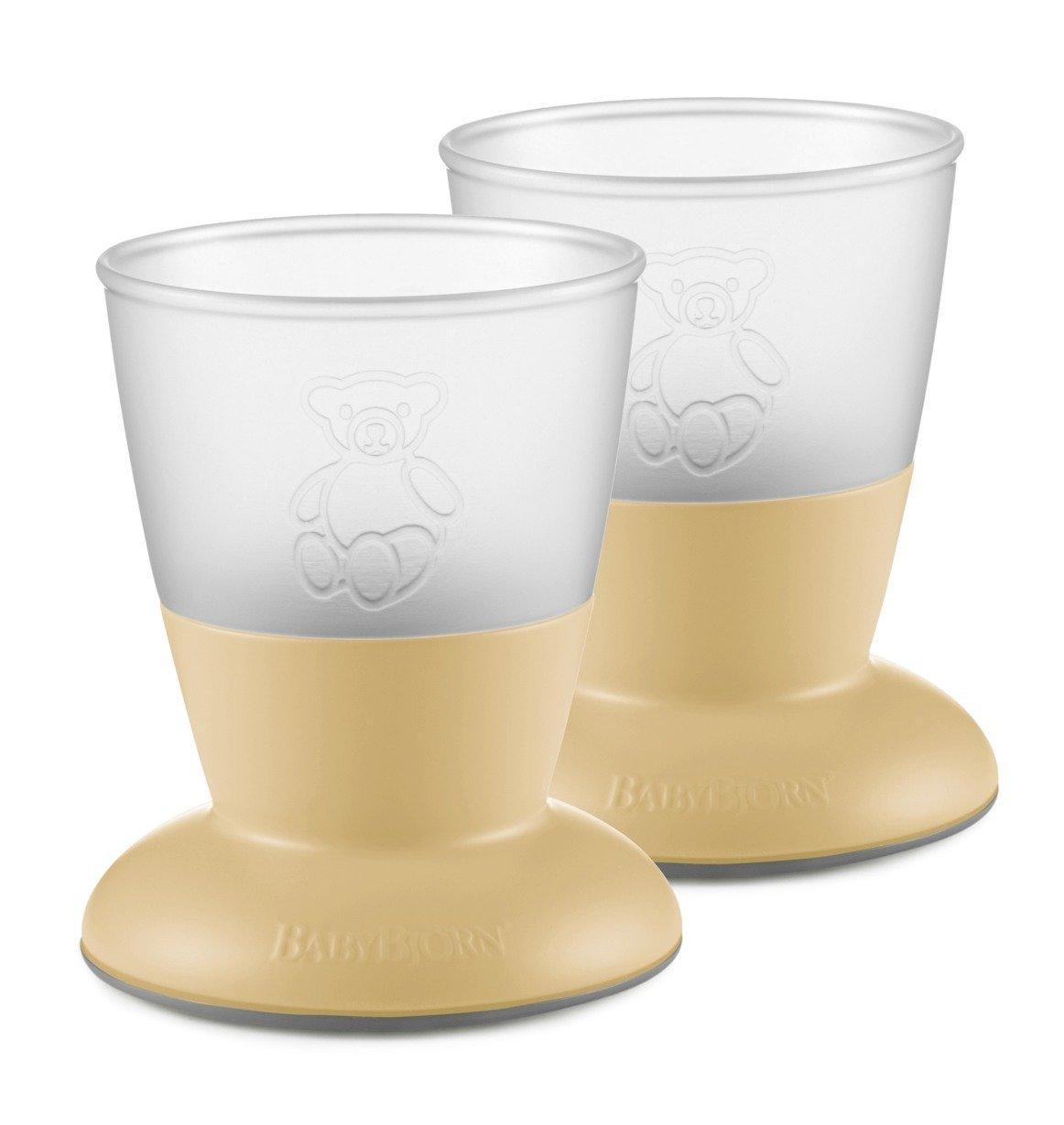 Две чашки BabyBjorn, Powder Yellow
