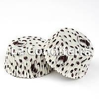 Бумажные формы для кексов «Кофейные зерна» (Ø50 мм), мин. партия от 2000 шт.